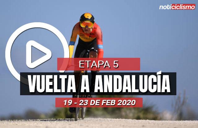 Vuelta a Andalucía 2020 (Etapa 5) Clasificaciones Completas