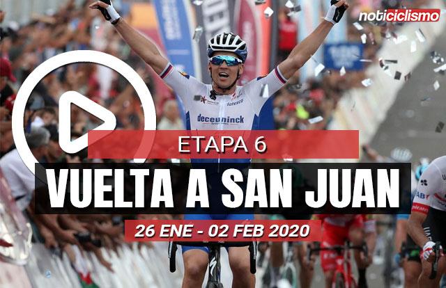 Vuelta a San Juan 2020 (Etapa 6) Últimos Kilómetros