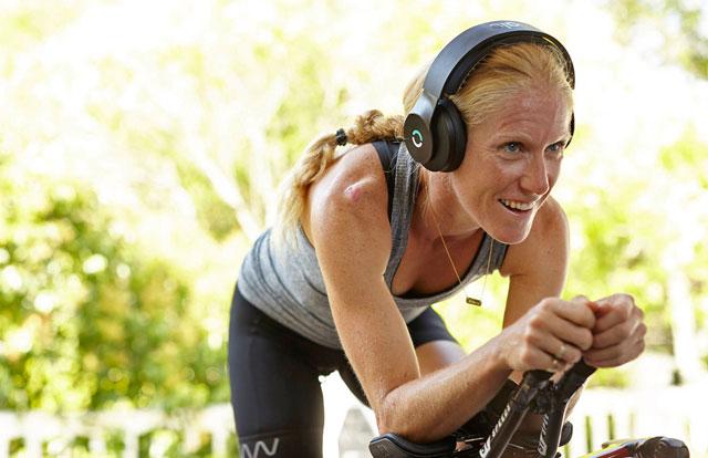 Escuchar música sobre la bici