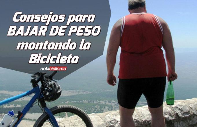 Consejos para Bajar de Peso montando la Bicicleta