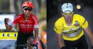 Nairo Quintana y Laurent Jalabert