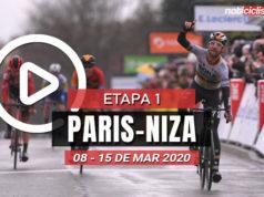 [VIDEO] Paris-Niza 2020 (Etapa 1) Últimos Kilómetros