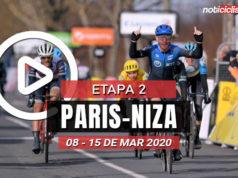 [VIDEO] Paris-Niza 2020 (Etapa 2) Últimos Kilómetros