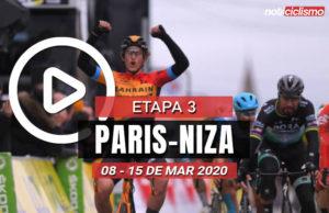 [VIDEO] Paris-Niza 2020 (Etapa 3) Últimos Kilómetros