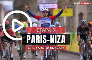 [VIDEO] Paris-Niza 2020 (Etapa 5) Últimos Kilómetros