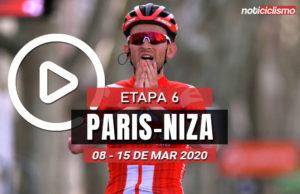 [VIDEO] Paris-Niza 2020 (Etapa 6) Ultimos Kilómetros