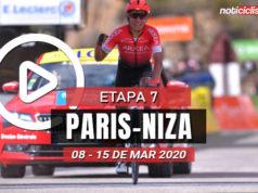 [VIDEO] Paris-Niza 2020 (Etapa 7) Últimos Kilómetros