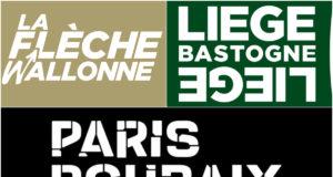 Paris-Roubaix, Flecha Valona y Lieja Bastoña Lieja