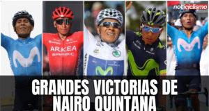 Grandes Victorias de Nairo Quintana