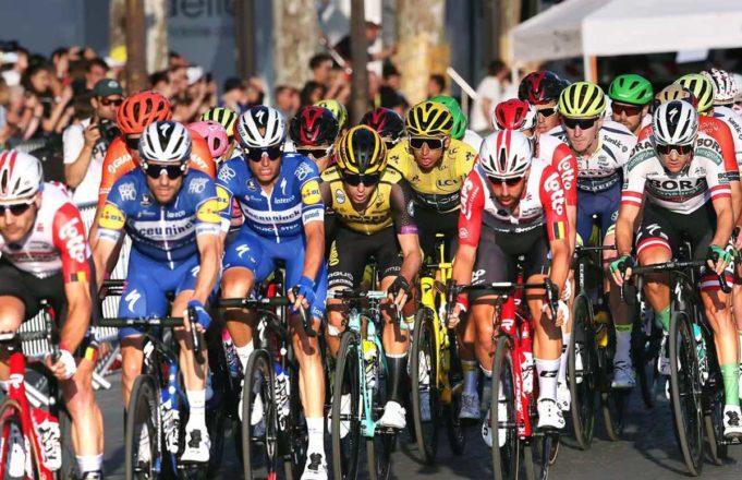 Ciclistas en el Tour de Francia 2019