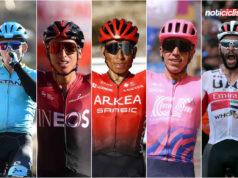 Ciclistas Colombianos