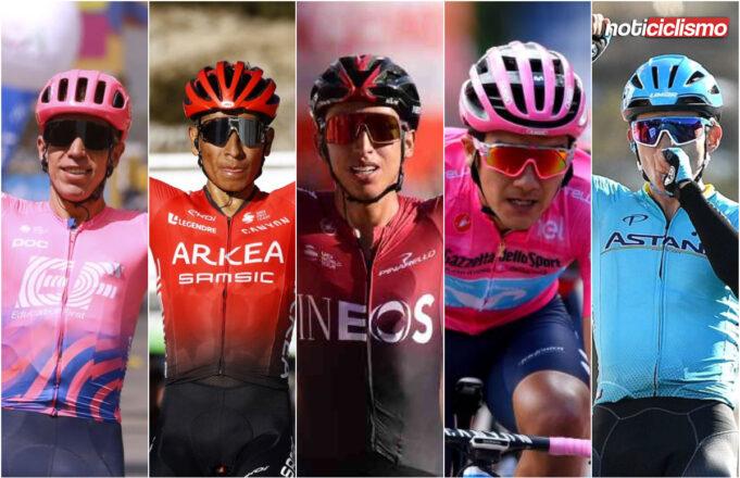 Ciclistas de Latinoamérica
