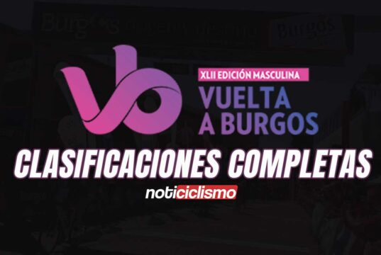 Vuelta a Burgos - Clasificaciones Completas