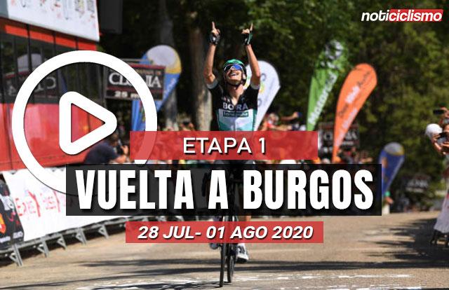 Vuelta a Burgos 2020 (Etapa 1) Ultimos Kilómetros