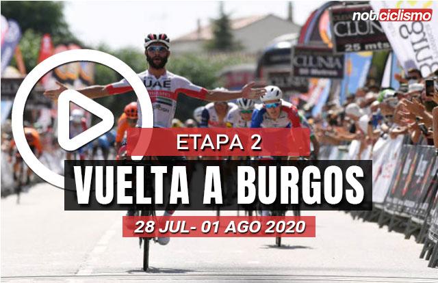 [VIDEO] Vuelta a Burgos 2020 (Etapa 2) Ultimos Kilómetros