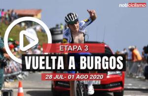 [VIDEO] Vuelta a Burgos 2020 (Etapa 3) Ultimos Kilómetros