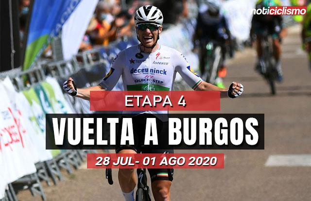 [VIDEO] Vuelta a Burgos 2020 (Etapa 4) Ultimos kilómetros