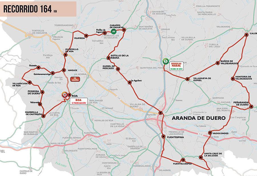 Vuelta a Burgos 2020 - Previa Etapa 4 Recorrido