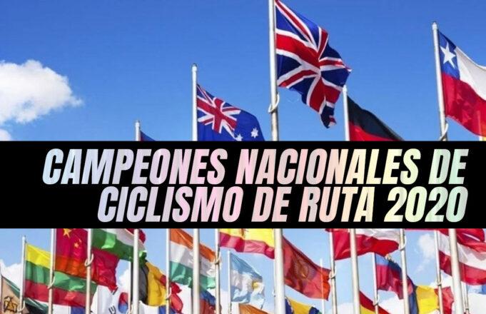 Campeones Nacionales de ciclismo de Ruta 2020