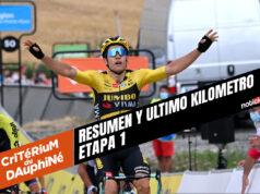 [VIDEO] Critérium du Dauphiné 2020 (Etapa 1) Ultimo Kilometro