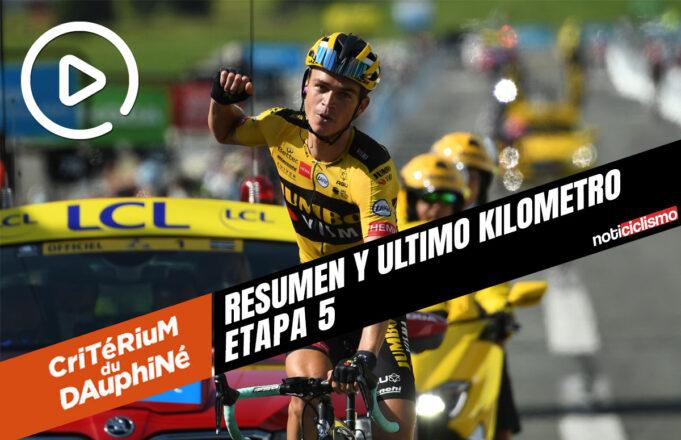ritérium du Dauphiné 2020 (Etapa 5) Resumen y Ultimo Kilometro