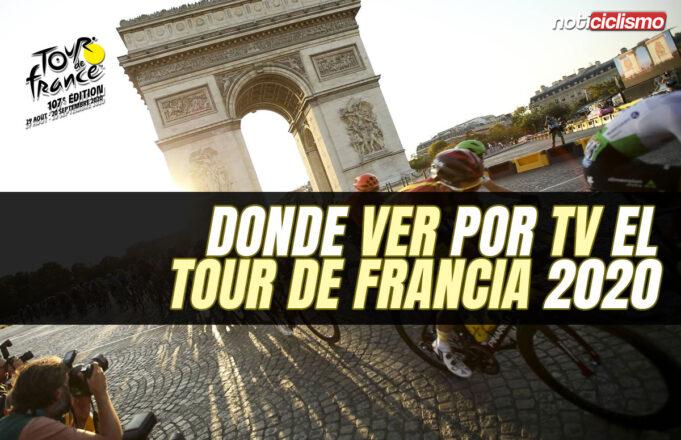 Donde ver por TV el Tour de Francia 2020