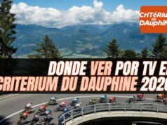 Donde ver por TV el Critérium du Dauphiné 2020