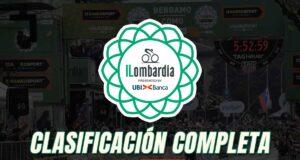 Giro de Lombardía 2020 - Clasificación Completa