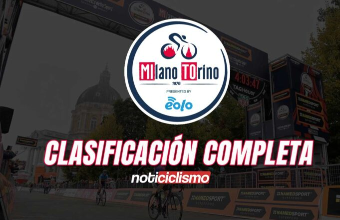 Milano-Torino 2020: Clasificación Completa