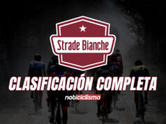 Strade Bianche - Clasificación Completa