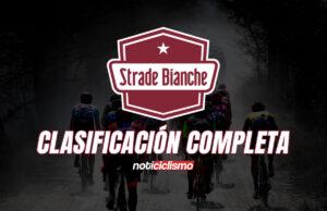 Strade Bianche 2020: Clasificación Completa