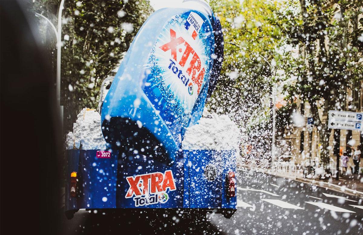 Caravana publicitaria del Tour de Francia