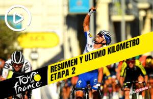 Tour de Francia 2020 (Etapa 2) Resumen y Ultimo Kilometro