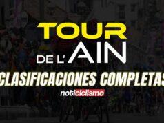 Tour de l'Ain 2020 - Clasificaciones Completas
