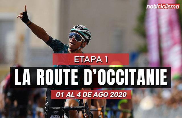 [VIDEO] La Route d'Occitanie 2020 (Etapa 1) Ultimos kilómetros