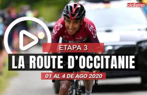 [VIDEO] La Route d'Occitanie 2020 (Etapa 3) Ultimos Kilómetros