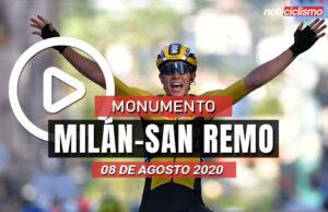 [VIDEO] Milán-San Remo 2020: Ultimos Kilómetros