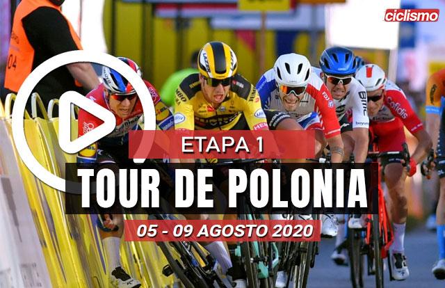 [VIDEO] Tour de Polonia 2020 (Etapa 1) Ultimos Kilómetros