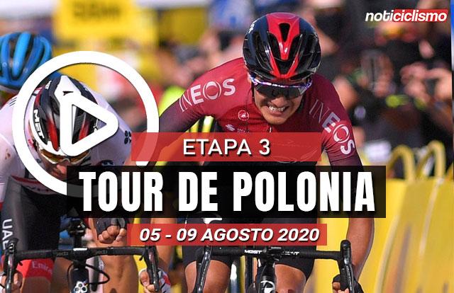 [VIDEO] Tour de Polonia 2020 (Etapa 3) Ultimos Kilómetros