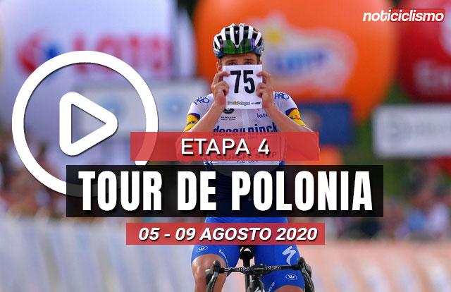 [VIDEO] Tour de Polonia 2020 (Etapa 4) Ultimos Kilómetros