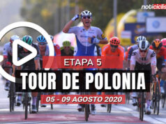 [VIDEO] Tour de Polonia 2020 (Etapa 5) Ultimos Kilómetros