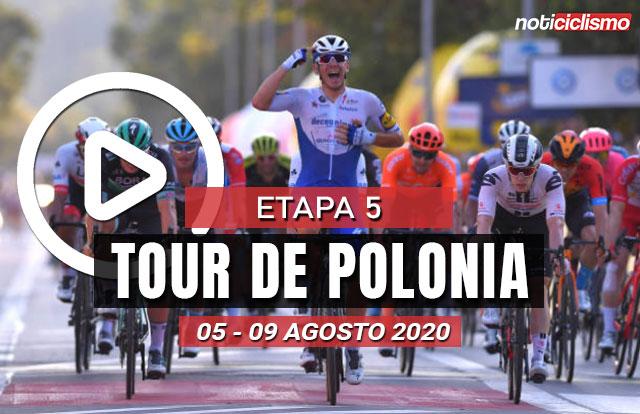 [VIDEO] Tour de Polonia 2020 (Etapa 5) Ultimos Kilómetros