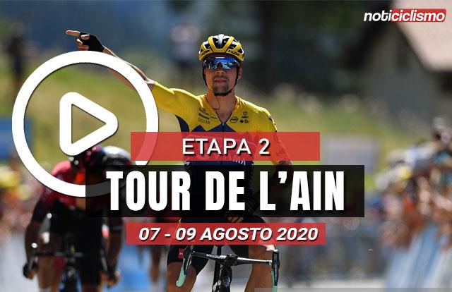 [VIDEO] Tour de l'Ain 2020 (Etapa 2) Ultimos Kilómetros