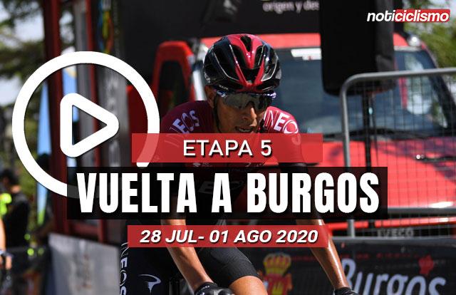 [VIDEO] Vuelta a Burgos 2020 (Etapa 5) Ultimos kilómetros