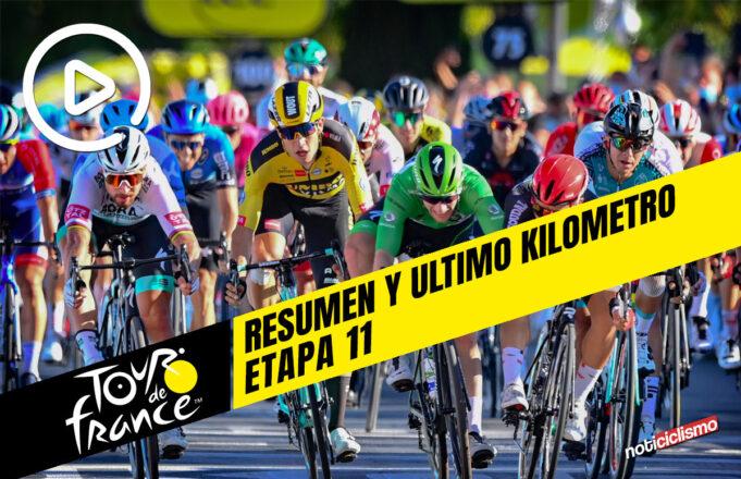 Tour de Francia 2020 (Etapa 11) Resumen y Ultimo Kilometro
