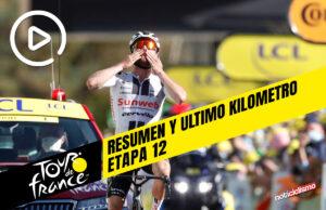 Tour de Francia 2020 (Etapa 12) Resumen y Ultimo Kilometro