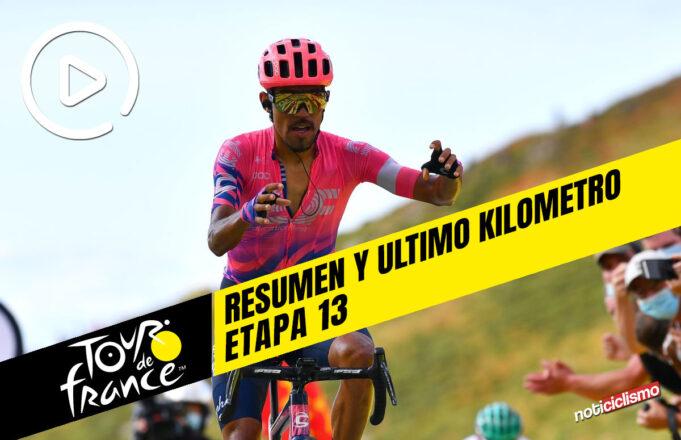 Tour de Francia 2020 (Etapa 13) Resumen y Ultimo Kilometro