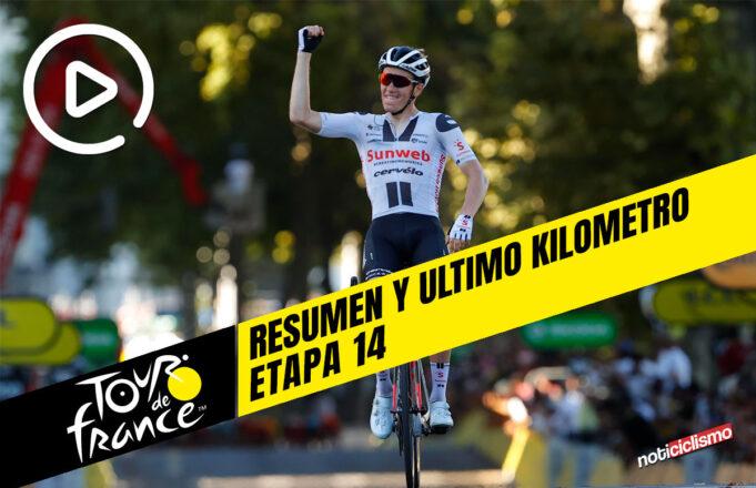 Tour de Francia 2020 (Etapa 14) Resumen y Ultimo Kilometro
