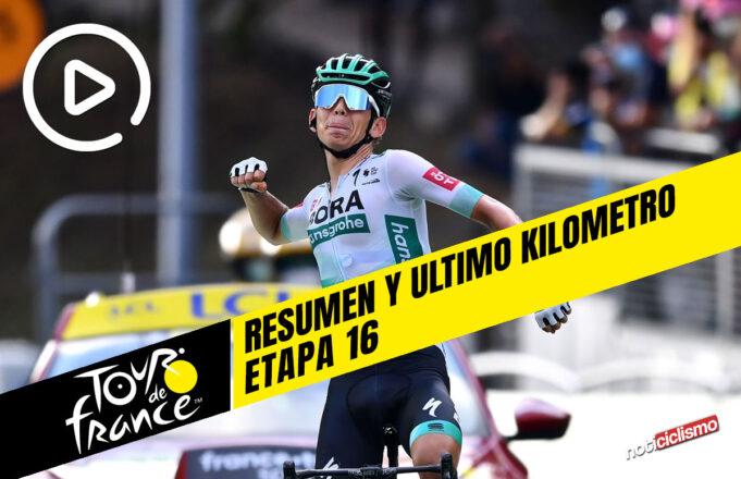 Tour de Francia 2020 (Etapa 16) Resumen y Ultimo Kilometro