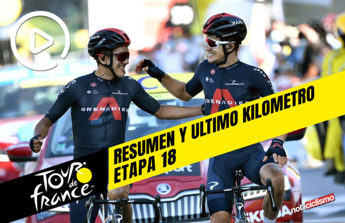 Tour de Francia 2020 (Etapa 18) Resumen y Ultimo Kilometro